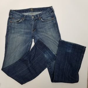7 for all Mankind med wash bootcut jeans size 29